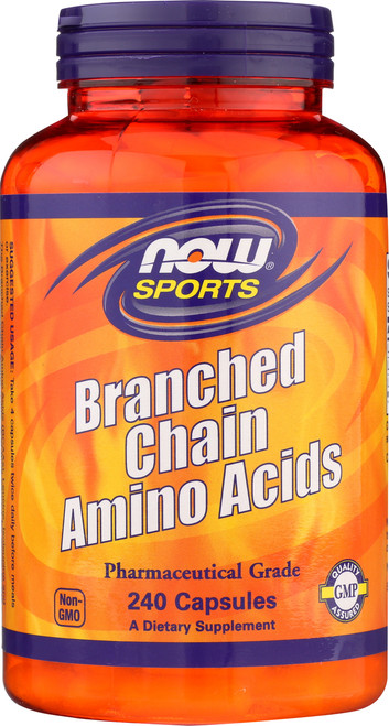 Branched Chain Amino Acids - 240 Capsules