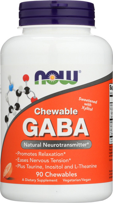 GABA Orange Flavor Chewable - 90 Chewables