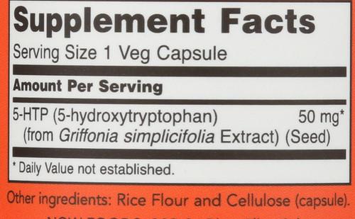 5-HTP 50 mg - 30 Capsules