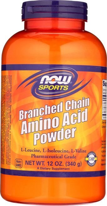Branched Chain Amino Acid Powder - 12 oz.