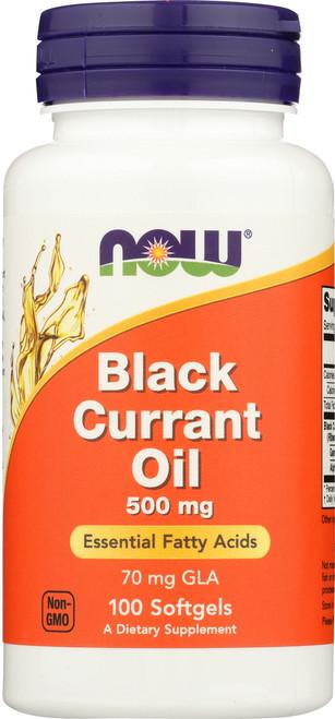 Black Currant Oil 500 mg - 100 Softgels