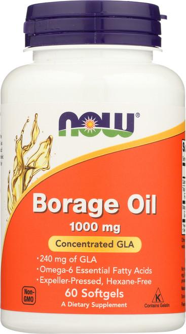 Borage Oil 1000 mg - 60 softgels