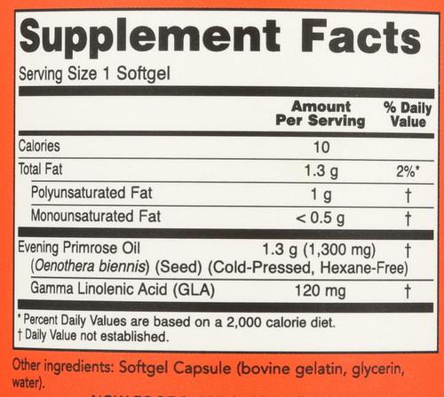 Super Primrose 1300 mg - 60 Softgels