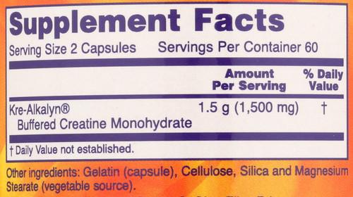 Kre-Alkalyn® Creatine - 120 Capsules