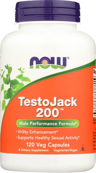 TestoJack 200™ - 120 Veg Capsules