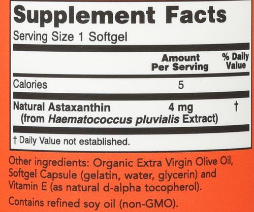 Astaxanthin 4 mg - 90 Softgels