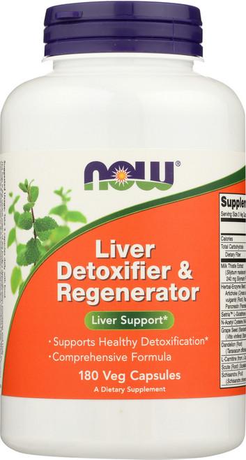 Liver Detoxifier & Regenerator - 180 Capsules