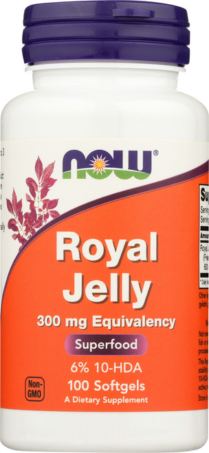 Royal Jelly 300 mg - 100 Softgels