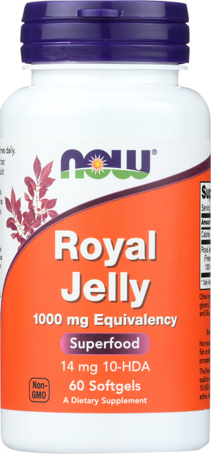 Royal Jelly 1000 mg - 60 Softgels