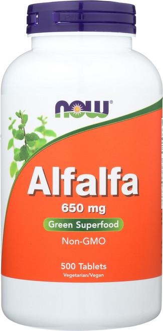 Alfalfa 650 mg - 500 Tablets