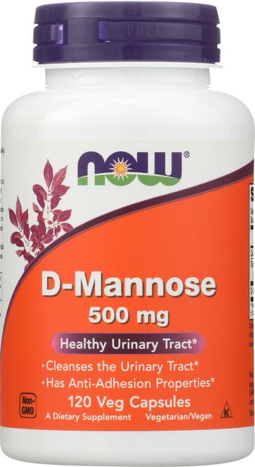 D-Mannose 500 mg - 120 Capsules