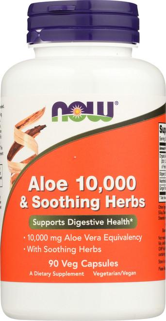 Aloe 10,000 & Soothing Herbs - 90 Veg Capsules