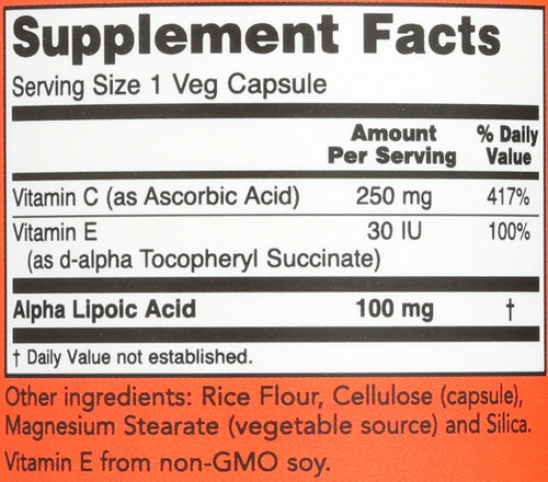 Alpha Lipoic Acid 100 mg - 60 Vcaps®