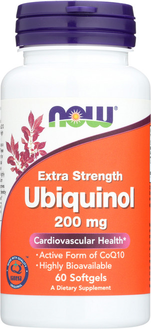 Ubiquinol 200 mg Extra Strength - 60 Softgels