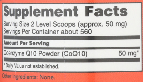 CoQ10 Pure Powder - 1 oz.