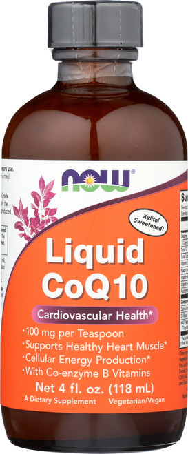 Liquid CoQ10 Orange Flavor - 4 oz.
