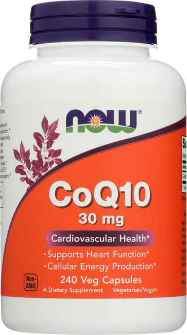 CoQ10 30 mg Vegetarian - 240 Vcaps