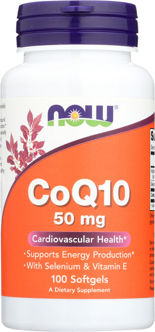 CoQ10 50 mg - 100 Softgels