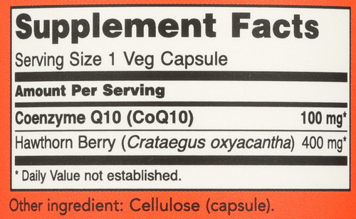 CoQ10 100 mg with Hawthorn Berry Vegetarian - 90 Vcaps®