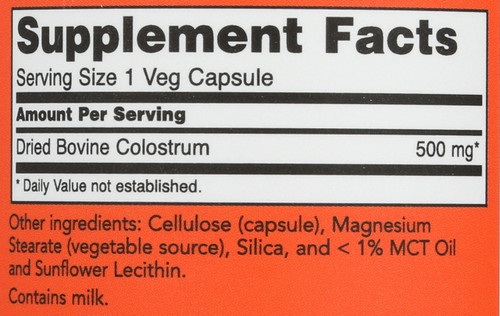 Colostrum 500 mg - 120 Capsules