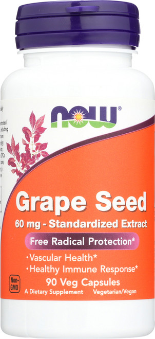 Grape Seed 60 mg - 90 Veg Capsules