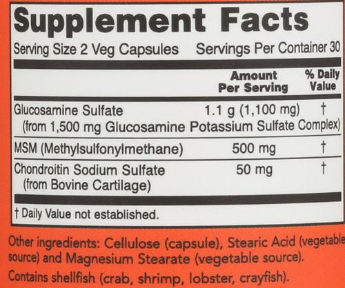 Glucosamine & MSM - 60 Capsules