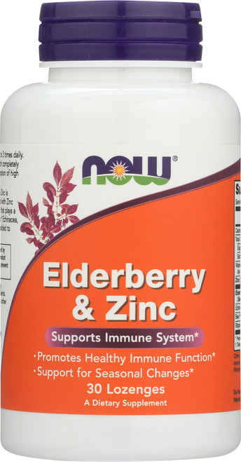 Elderberry & Zinc - 30 Lozenges
