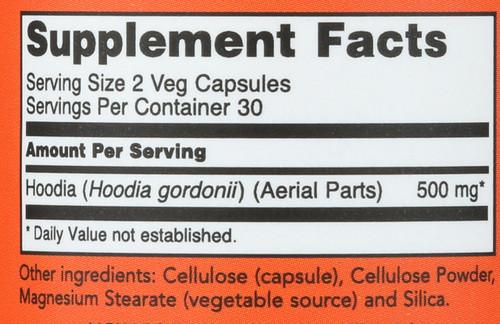 Mega Hoodia 250 mg - 60 Veg Capsules