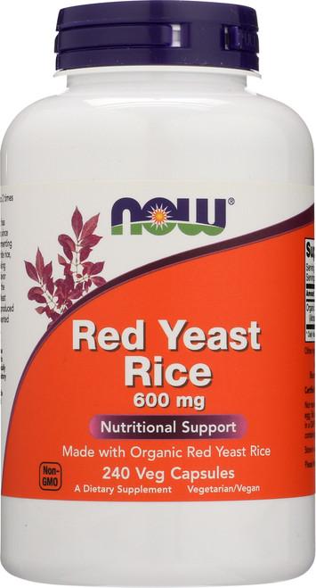 Red Yeast Rice 600 mg - 240 Veg Capsules