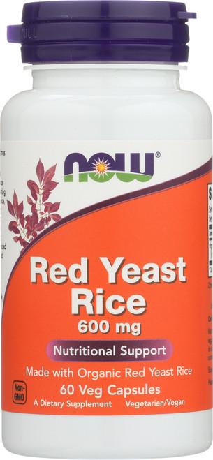 Red Yeast Rice 600 mg - 60 Veg Capsules