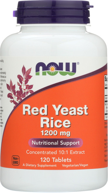 Red Yeast Rice 1200 mg - 120 Tablets