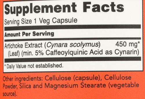 Artichoke Extract 450 mg - 90 Vcaps