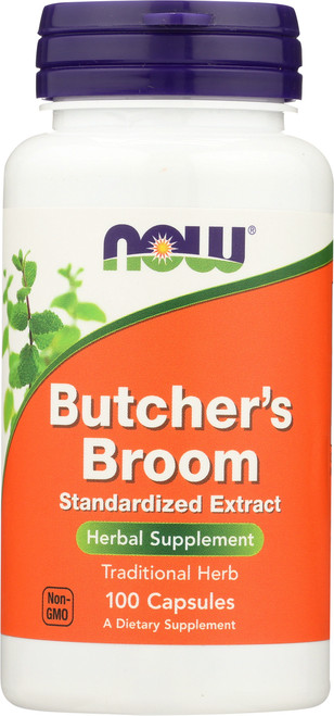 Butchers Broom - 100 Capsules