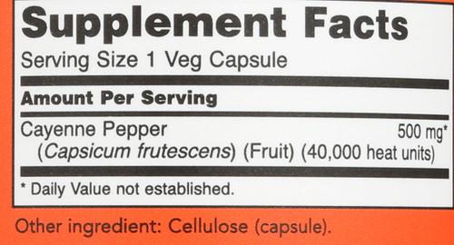 Cayenne 500 mg - 250 Capsules