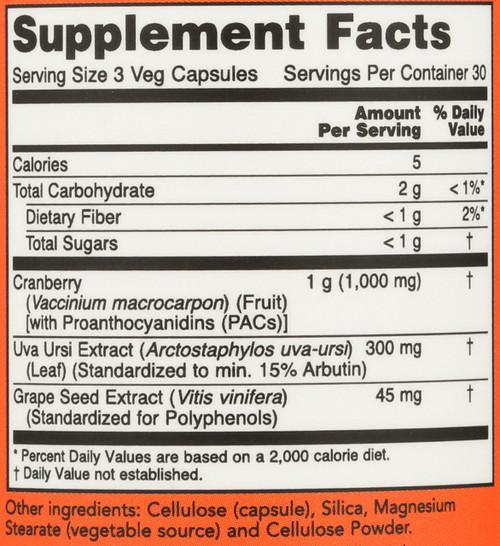 Cranberry Extract - 90 Veg Capsules