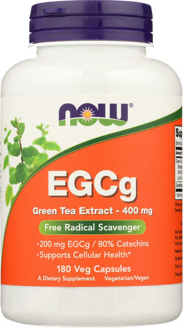 EGCg Green Tea Extract 400 mg - 180 Vcaps®