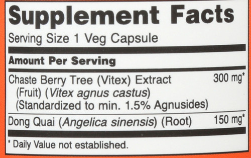 Chaste Berry-Vitex Extract 300 mg - 90 Vcaps®