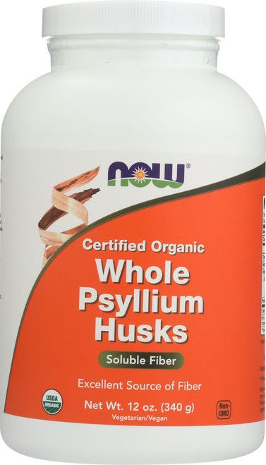 Whole Psyllium Husks (Organic) - 12 oz.