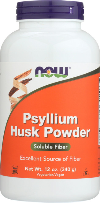 Psyllium Husk Powder Vegetarian - 12 oz.
