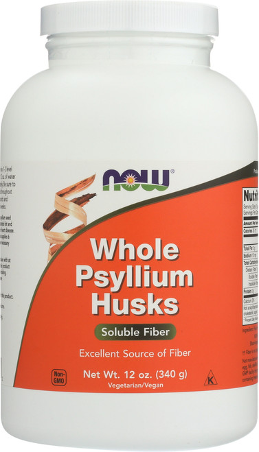 Whole Psyllium Husks - 12 oz