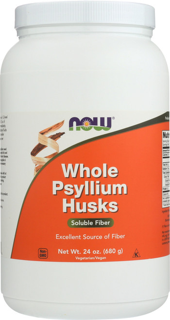 Psyllium Husks Whole Vegetarian - 24 oz.