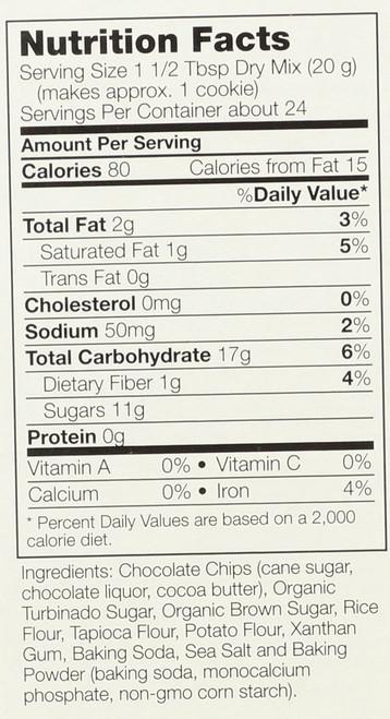 Chocolate Chip Cookie Mix, Gluten-Free - 17 oz.