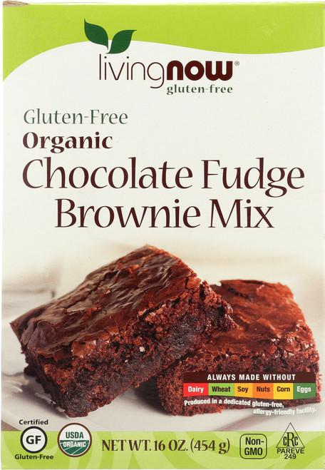 Chocolate Fudge Brownie Mix, Organic, Gluten-Free - 16 oz.