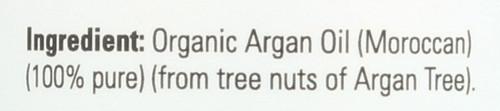 Argan Oil Pure & Certified Organic - 4 fl. oz.