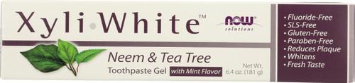 Xyliwhite Neem & Tea Tree Toothpaste Gel - 6.4 oz.