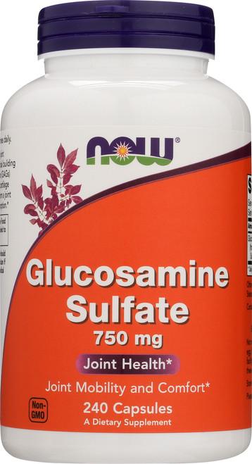 Glucosamine Sulfate 750 mg - 240 Capsules