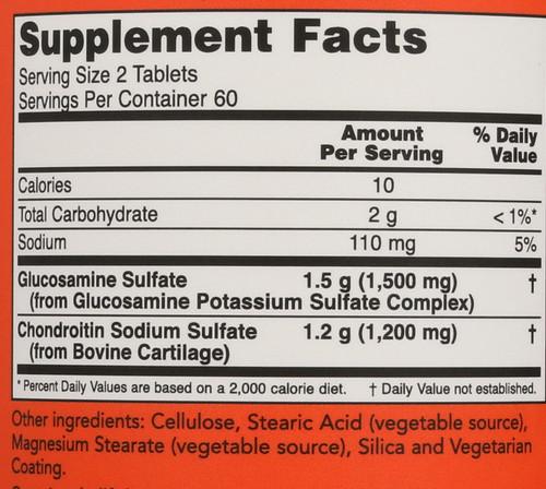 Glucosamine & Chondroitin Extra Strength - 120 Tablets