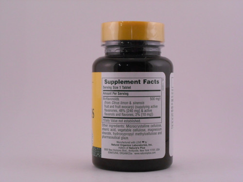 Bioflavonoids 500mg 90 Tablets