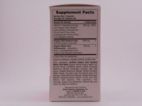 Source of Life Garden Vitamin C 500mg 60 VCaps