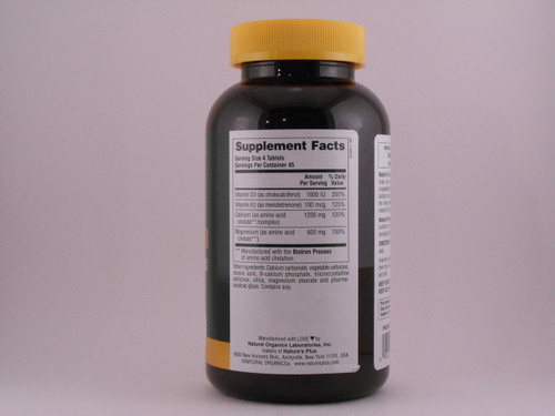 Cal/mag With D3/k2 180 Tablets